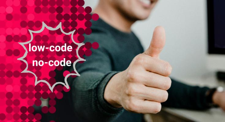 low-code no-code trendy 2021